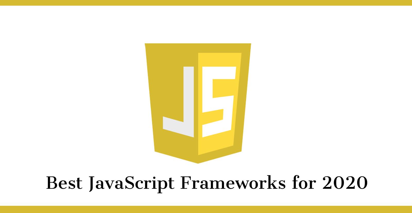 best-javascript-frameworks-for-2020