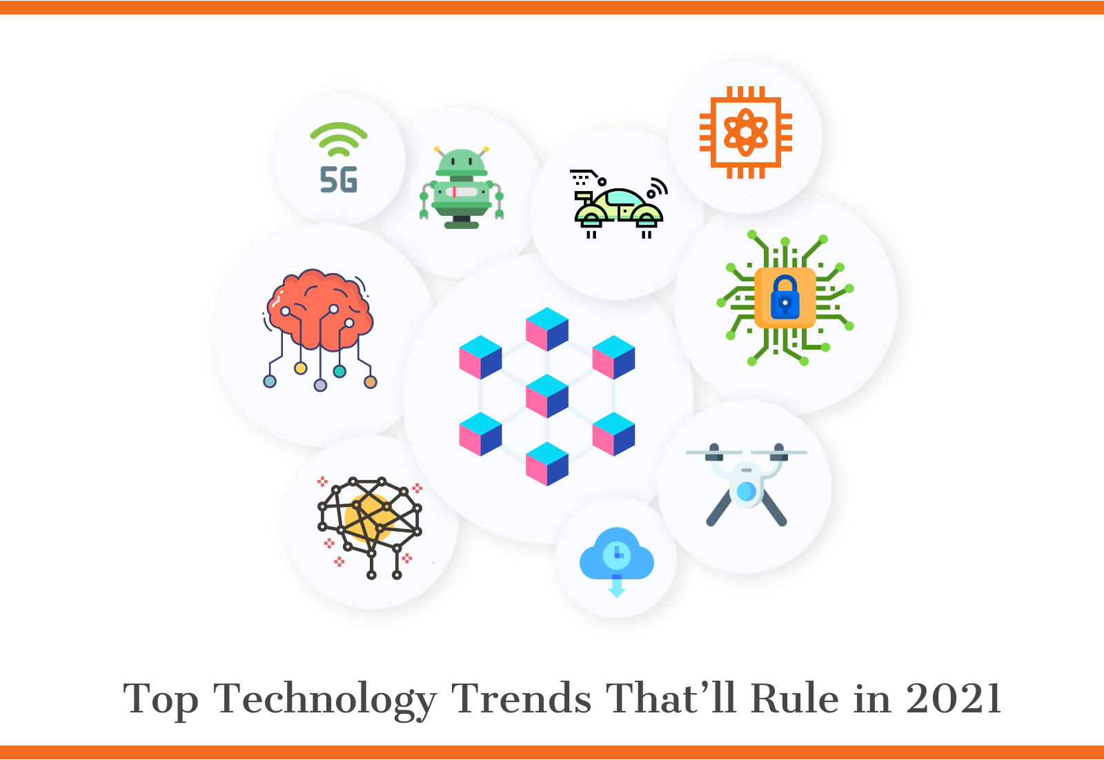 Image of top technology trends in 2021