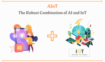AI when combined with IoT gives AIoT