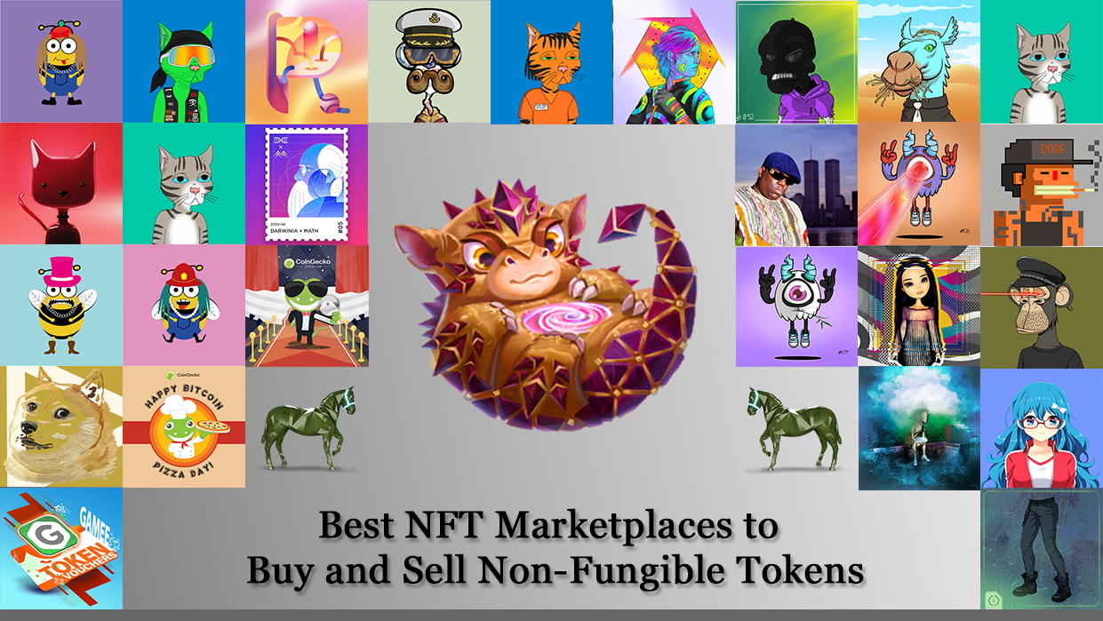 15 best nft marketplaces to buy and sell non fungible tokens