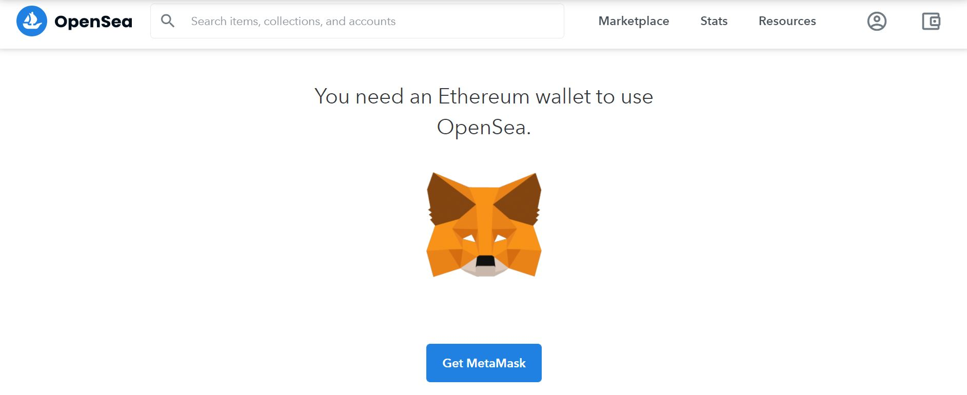 Opensea - A marketplace where you can create an nft